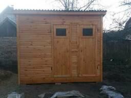Туалет, душ, хозблок 3х1, 5 м для дачи