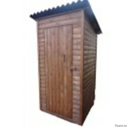 Туалет летний, для дачи, дачиный, деревянный, сборный.