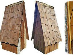 Туалетные кабинки из массива дуба (с унитазом дубовым)
