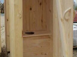 Туалеты деревянные д. Высокое