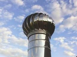 Турбодефлектор - естественная вентиляция без электричества!