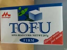 Творог Тофу соевый твёрдый Morinaga 297 г, Япония