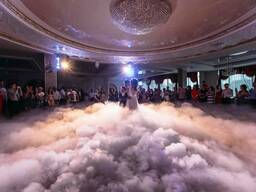 Тяжелый дым, тяжелый дым на свадьбу, генератор дыма
