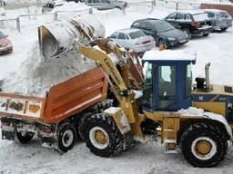 Комплексная уборка снега техникой