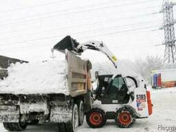Уборка и вывоз снега техникой