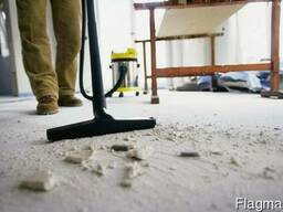Уборка помещений после строительства (ремонта)