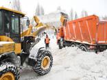 Погрузчик для расчистки территории от снега - photo 1