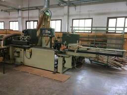 Угловой центр для производства деревянных окон SCM