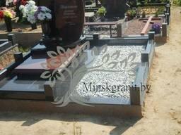 Укладка плитки на местах захоронения