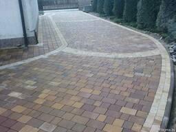 Укладка тротуарной плитки - фото 1