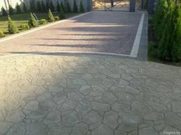 Укладка тротуарной плитки в Барановичах, Ляховичах, Слониме