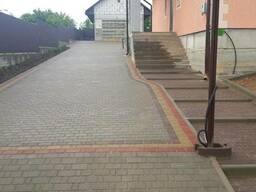 Укладка тротуарной плитки в Барановичах Ляховичах Несвиже и