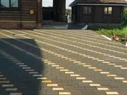 Укладка тротуарной плитки в Гомеле. - фото 1