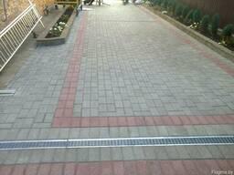 Укладка тротуарной плитки в Гомеле, Речице. - фото 3
