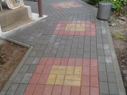 Укладка тротуарной плитки в Гомеле, Речице. - фото 4