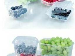 Упаковка для ягод, грибов и овощей.