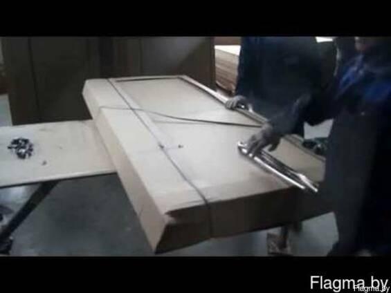 Упаковка и уголки для металлических и деревянных дверей