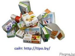 Упаковка из картона для пищевых продуктов