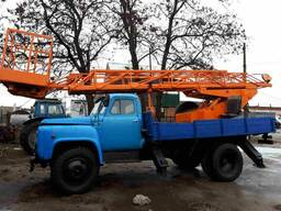 Услуги Аренда Автовышки телескоп 18м и коленчатая 18м