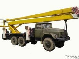 Услуги Автовышки в/с 22 метра