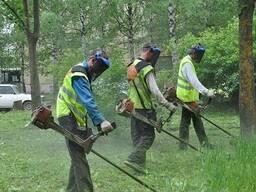 Услуги Газонокосильщиков, покос травы, стрижка газонов