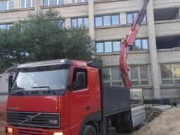 Услуги гидроманипулятор VOLVO грузоперевозки в Гродно