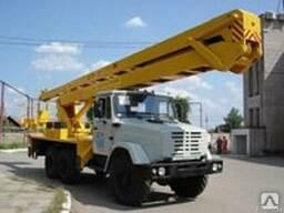 Услуги автовышки ЗИЛ ВС 2202, высота 22м