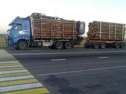 Услуги лесовоза с гидроманипулятором по РБ, РБ-РФ-РБ