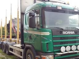 Услуги лесовоза с гидроманипулятором Scania