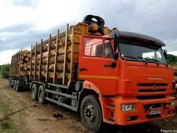 Услуги лесовоза с манипулятором по всей РБ