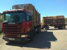 Услуги лесовоза Scania470 2868