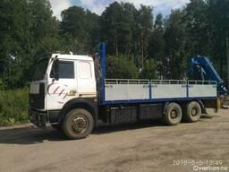 Услуги манипулятора 2-18 тонн