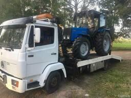 Перевозка спецтехники, грузовой эвакуатор до 6 тонн