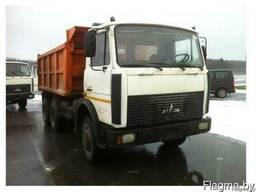 Услуги МАЗа 551605-271-050 (грузовой, специальный самосвал)