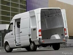 Услуги перевозок 1.5 тоны 10куб. м 2 пассажира