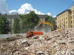 Услуги по демонтажу зданий, сооружений, стр-ых конструкций.