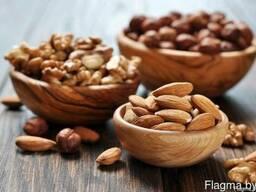 Услуги по обжарке семечек и орехов, солению семечек и орехов
