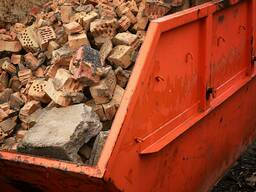 Услуги по приемке строительных и промышленных отходов