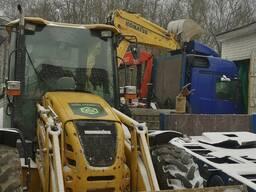 Услуги по разработке участка, а также любых земельных работ