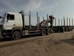 Услуги по вывозке лесоматериалов
