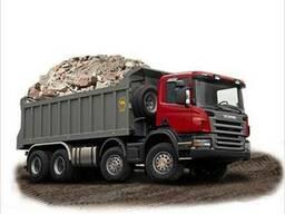 Услуги самосвала 10 20 25 30 тонн