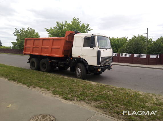 Услуги самосвала МАЗ 20 тонн в Борисове