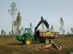 Услуги трелевки и вывозки древесины