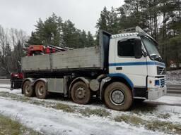 Услуги Volvo c гидроманипулятором Palfinger 35000