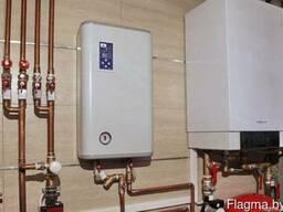 Установка газовых, твердотопливных, электрических котлов