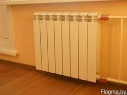 Установка, монтаж радиаторов отопления в Могилёве и области