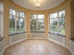 Установка окон, балконных рам, откосы