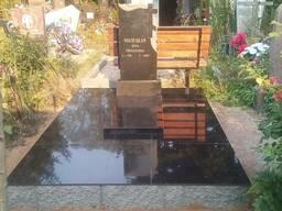 Установка памятников на кладбище в Минске
