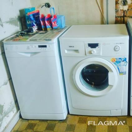 Установка , подключение стиральных машин