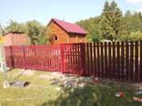 Установка изготовление забора, ворот, ограждений, навесов! - фото 3